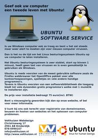 Flyer A5 Ubuntu