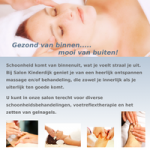 Flyer A5 Salon Kinderdijk