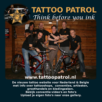 Flyer 10 x 10 cm Tattoo Patrol
