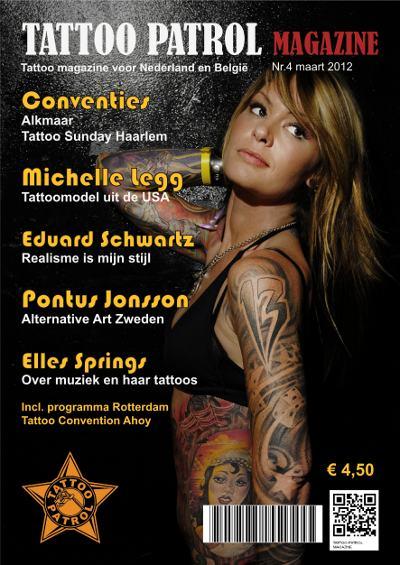 Tattoo Patrol Magazine editie maart 2012