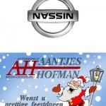 Kerstkaart Aantjes Hofman 2011